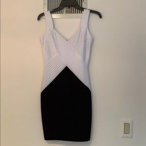 new Calvin Klein colorblock dress